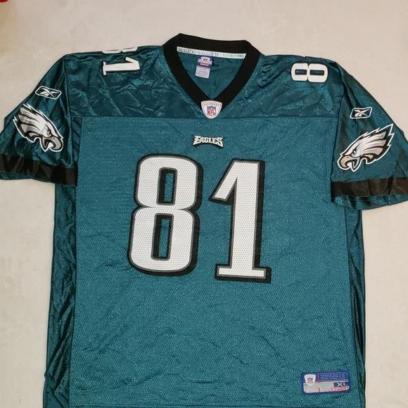 half off ba1c3 319d8 Men's Reebok NFL Eagles Terrell Owens #81 Jersey